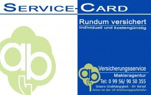ab-Versicherungsservice - Service-Card